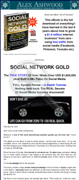 Social Network Gold preview. Click for more details
