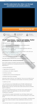 Social Smartness: Why People Act The Way They Act preview. Click for more details