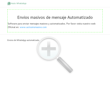 Software Auto Sen Para Whatsapp preview. Click for more details