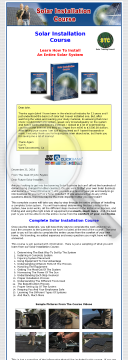 Solar Installation Course preview. Click for more details