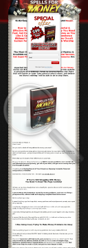 Spells For Money - The Most Powerful & Effective Money Spells! preview. Click for more details