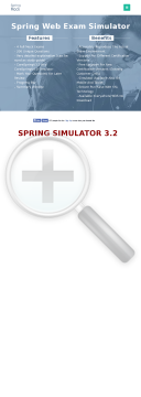 Spring Core Certification Web Simulator preview. Click for more details