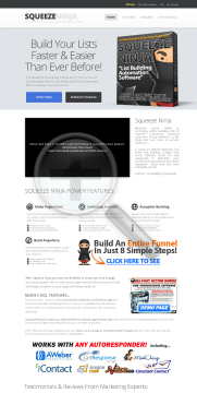 Squeeze Ninja System - Ultimate List Building Software In 2013! preview. Click for more details