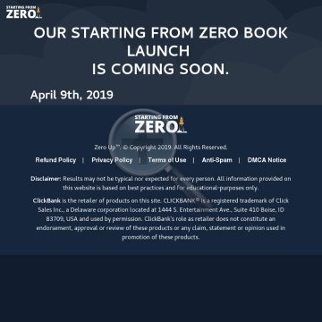 Starting From Zero Audiobook - Epic & Lifetime Commission! preview. Click for more details