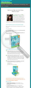 Step By Step Paleo preview. Click for more details