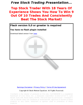 Stock Market Equalizer - #1 Stock Trading System preview. Click for more details