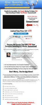 Stop Sweating Self-confidence preview. Click for more details