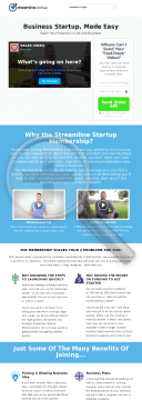 Streamline Startup preview. Click for more details