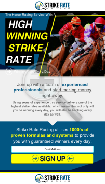 Strike Rate Racing preview. Click for more details