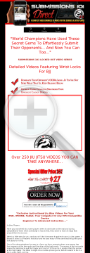 Submissions 101 -237 Jiu Jitsu Videos - Top Seller preview. Click for more details