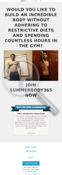 Summerbody365 preview. Click for more details