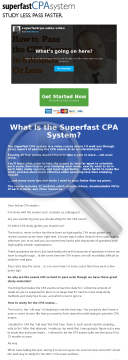 Superfast Cpa: Pass The Cpa Exams In 6 Months Or Less preview. Click for more details