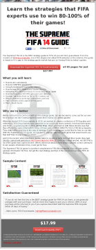 Supreme Fifa 14 Guide preview. Click for more details