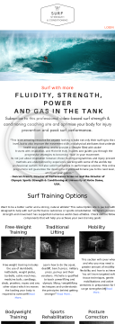 Surf Strength & Conditioning preview. Click for more details