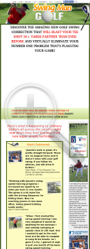 Swing Man Golf - 7.66% Conversions preview. Click for more details
