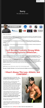 Swole System - Build Size, Strength And A Lean Athletic Body preview. Click for more details