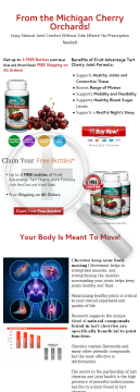 Tart Cherry Capsules - Fruit Advantage Tart Cherry Joint Formula preview. Click for more details