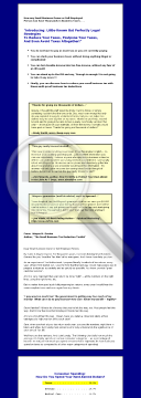 Tax Reduction Toolkit. preview. Click for more details