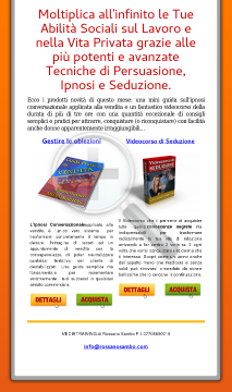 Tecniche Di Persuasione E Seduzione preview. Click for more details