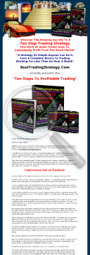 Ten Steps To Profitable Trading preview. Click for more details
