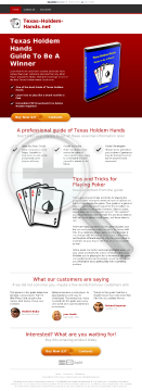 Texas Holdem Hands - Guide To Be A Winner preview. Click for more details