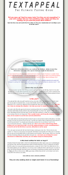 Text Appeal - The Ultimate Text Dating Guide preview. Click for more details