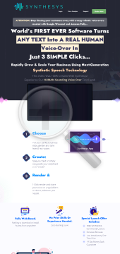 Text To Speech Software - Natural Voice Overs By Real Humans preview. Click for more details