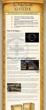 The #1 Elder Scrolls Online Leveling Guide preview. Click for more details