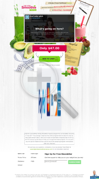 The 10-day Smoothie Cleanse - Hottest New Diet! preview. Click for more details
