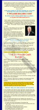 The 10 Minute Cash Builder preview. Click for more details