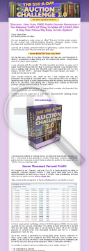 The $50 A Day Auction Challenge preview. Click for more details