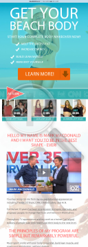 The 8 Week Body Challenge By Celebrity Fitness Trainer Mark Macdonald preview. Click for more details