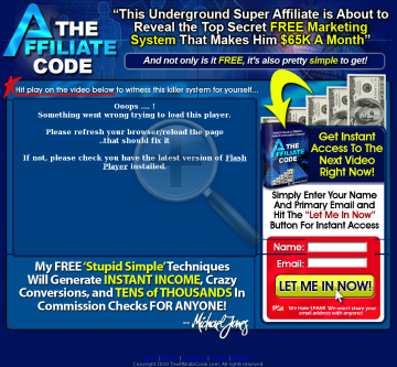 The Affiliate Code - Michael Jones Is Shaking The Affiliate Industry! preview. Click for more details