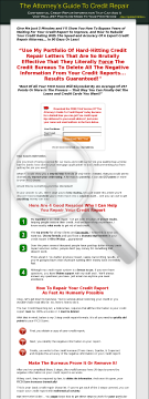 The Attorneys Guide To Credit Repair. preview. Click for more details