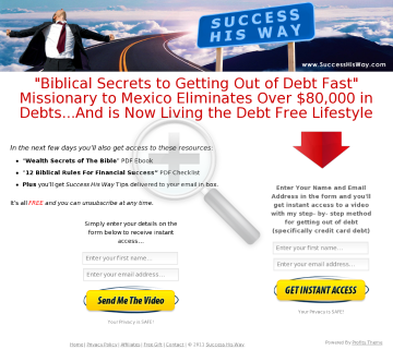 The Biblical Success System preview. Click for more details