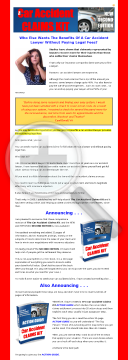 The Car Accident Claims Kit Second Edition preview. Click for more details