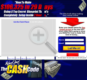 The Cash Code - *new From Michael Jones, Top CB Affiliate preview. Click for more details