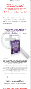The Complete Diet And Lifestyle Plan Exclusively For Mums preview. Click for more details