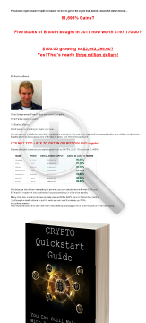 The Crypto Quickstart Guide preview. Click for more details