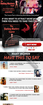 The Dating Mastery Course preview. Click for more details