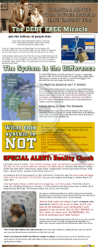 The Debt Free Miracle preview. Click for more details