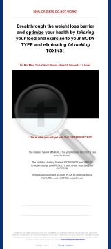 The Dieters Secret - Natural Weight Loss System preview. Click for more details