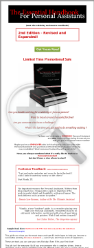 The Essential Handbook For Personal Assistants preview. Click for more details