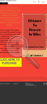 The Exact Location Of Heaven In Miles preview. Click for more details