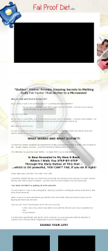 The Failproof Diet - The Ultimate Modern Weight Loss Product preview. Click for more details