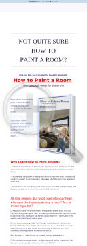 The How To Paint A Room Ebook preview. Click for more details