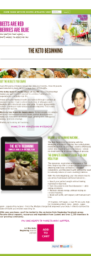 The Keto Beginning By Healthful Pursuit preview. Click for more details