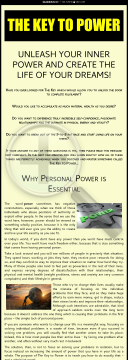 The Key To Power preview. Click for more details