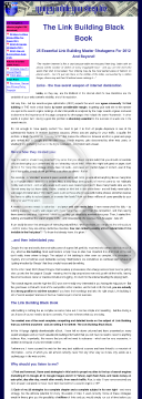 The Link Building Black Book preview. Click for more details