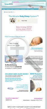 The Miracle Baby Sleep System preview. Click for more details